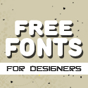 Post thumbnail of Fresh Free Fonts for Designers (21 fonts)