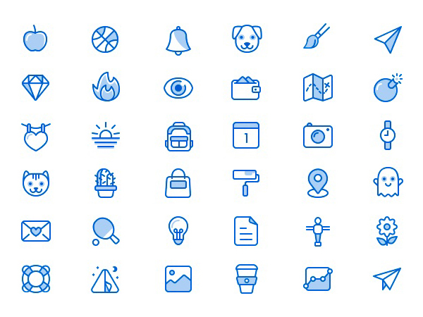 Free Miscellaneous Icons Set (36 Icons)