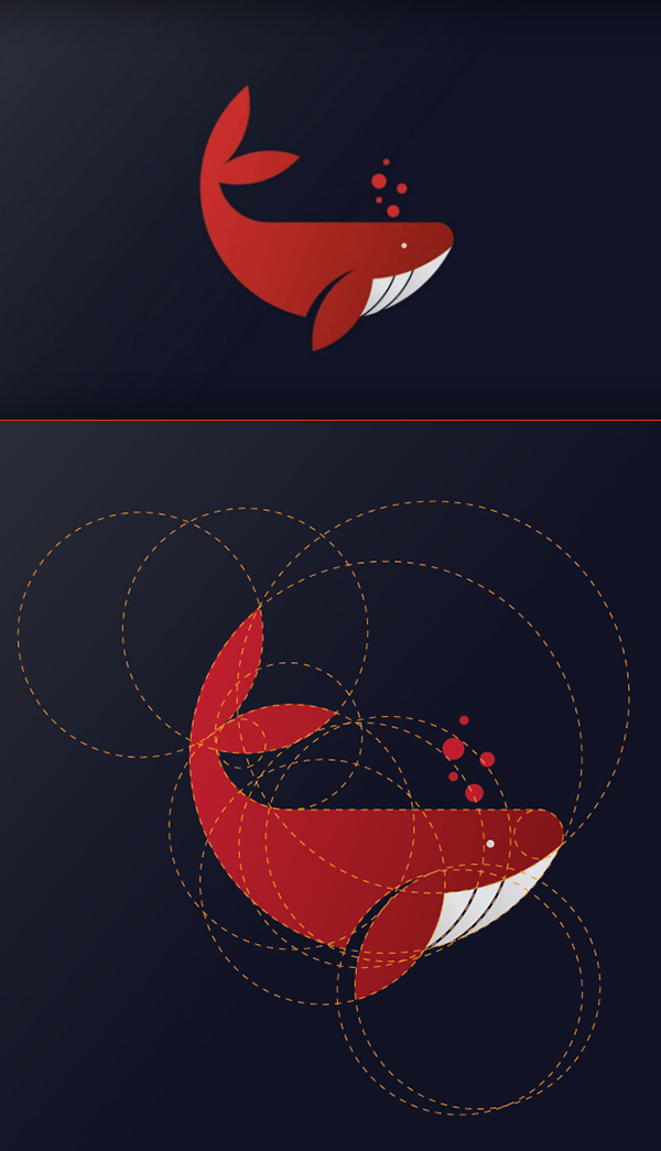 How to Create Whale Logo Design in Adobe Illustrator