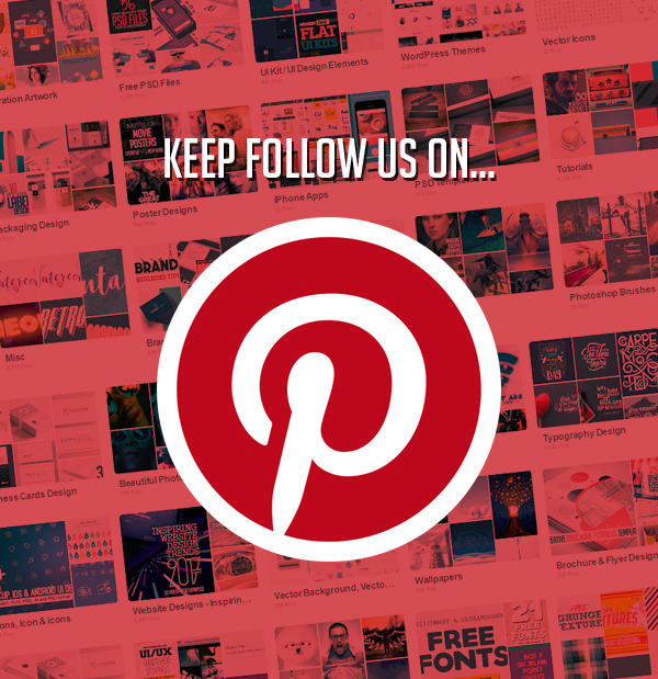 Keep follow us on Pinterest