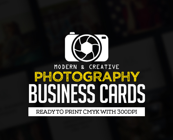 creative photography business cards design graphic design junction
