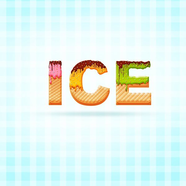 Create an Ice Cream Text Effect in Photoshop