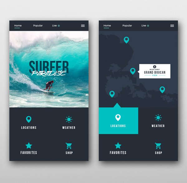 35 Modern Mobile App UI Design with Amazing User Experience ...