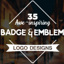 35 Awe-Inspiring Badge & Emblem Logo Designs