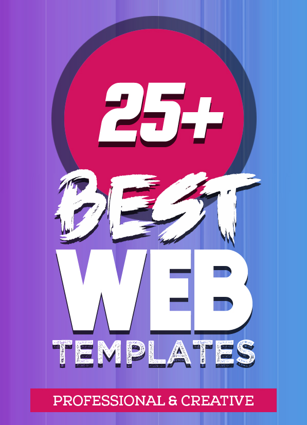 25+ Best Single Page Web Templates