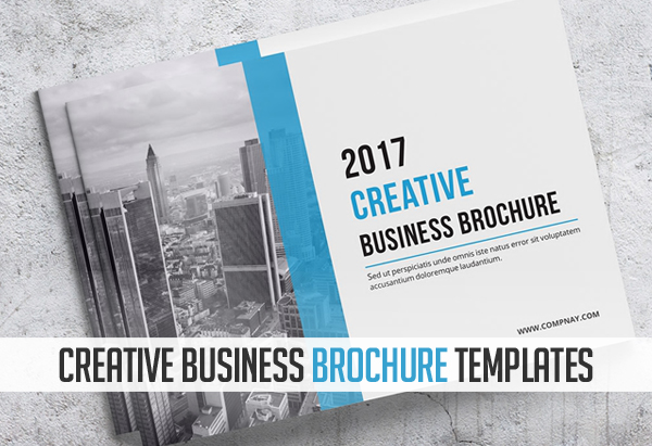 18 new creative brochure catalog templates