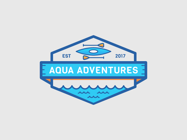 35 Awe-Inspiring Badge & Emblem Logo Designs - 1