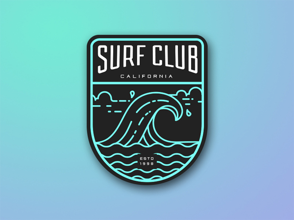 35 Awe-Inspiring Badge & Emblem Logo Designs - 16
