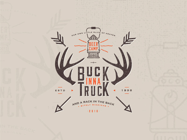 35 Awe-Inspiring Badge & Emblem Logo Designs - 30