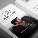 Freebie – Minimal Photographer Business Card PSD Template