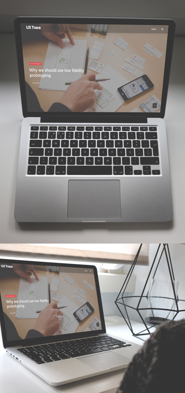 Free PSD file: Macbook High Resolution Free Mockup