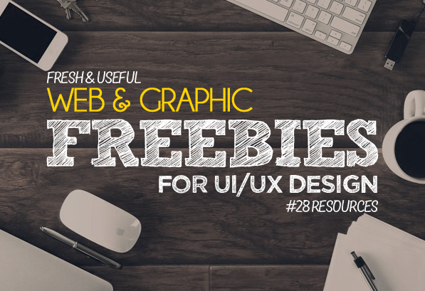 New Web & Graphic Design Freebies : 28 Resources
