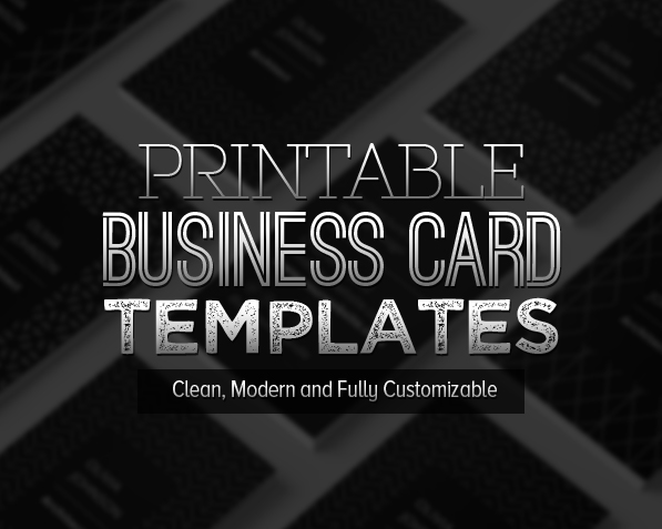 New printable business card templates design graphic design junction new printable business card templates cheaphphosting Images