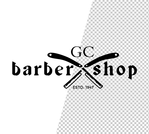 Barber Shop Logo Template - 5