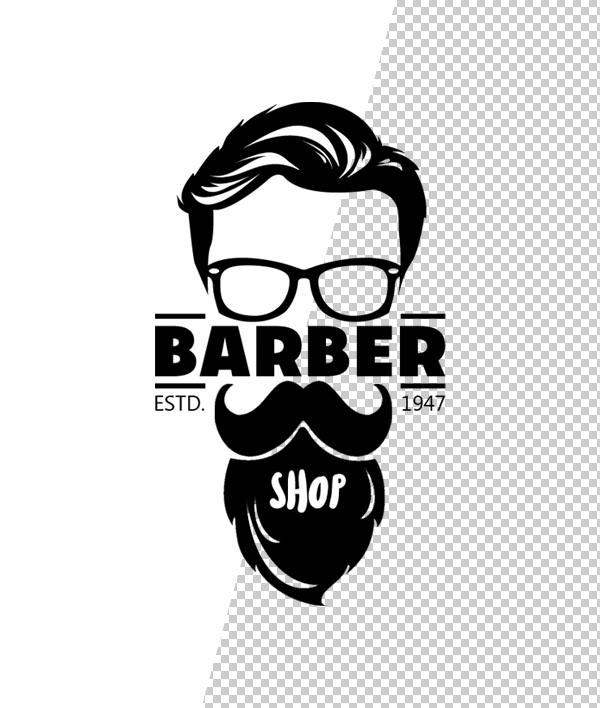 Plantilla de logotipo de barber shop - 7