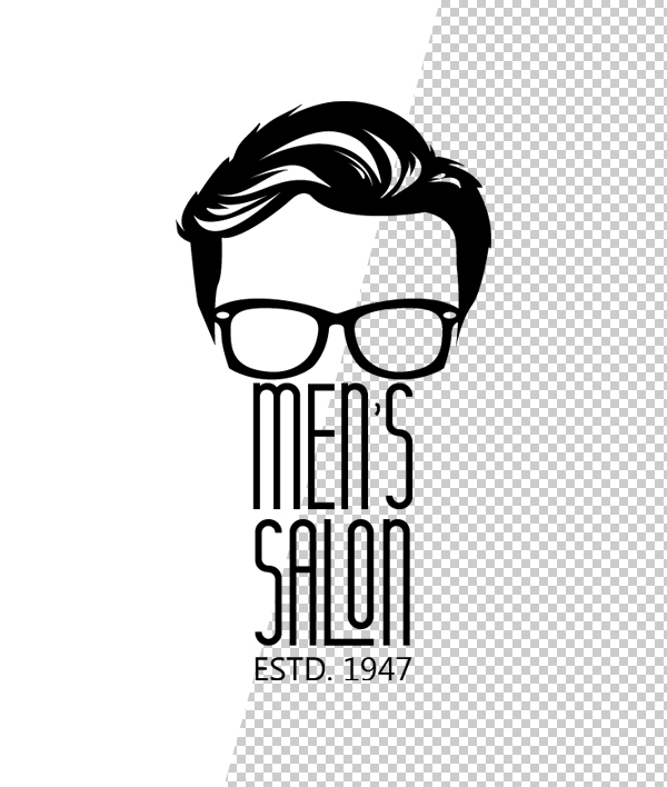 Barber Shop Logo Template - 8