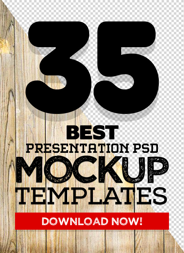 35 Best Mockups: Download Realistic PSD Mock-ups