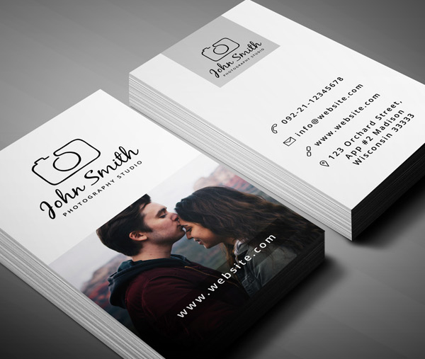 Free Business Card Templates Freebies Graphic Design Junction - Photography business cards templates for photoshop