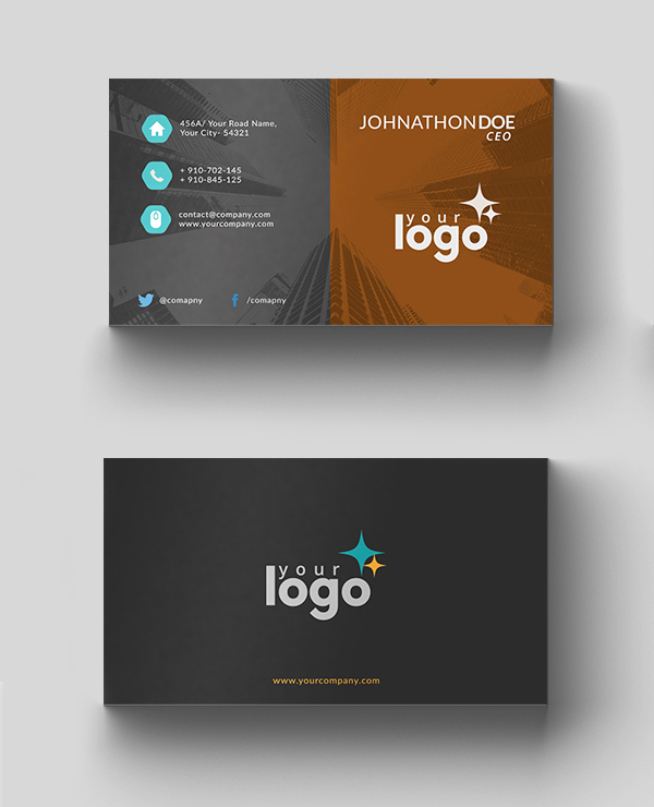 Free business card templates freebies graphic design junction 26 modern free business cards psd templates 18 reheart Gallery