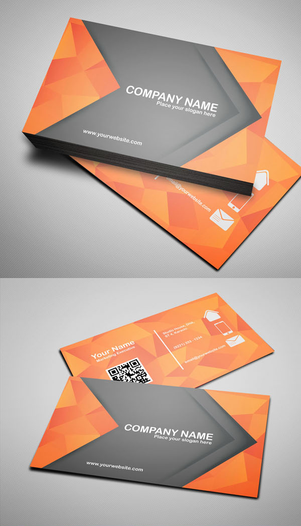 26 Modern Free Business Cards PSD Templates - 2