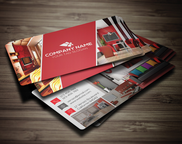 26 Modern Free Business Cards PSD Templates - 20