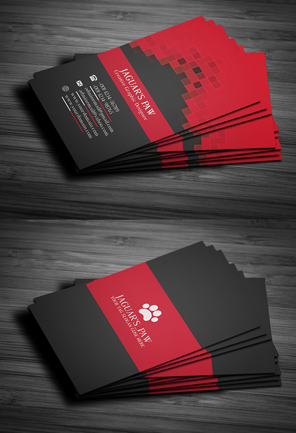 Free business card templates freebies graphic design junction 26 modern free business cards psd templates 25 wajeb Image collections