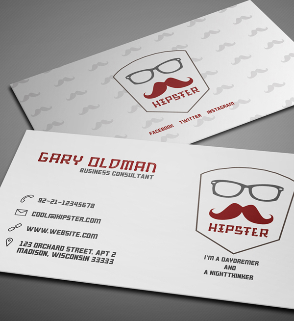 26 Modern Free Business Cards PSD Templates - 3