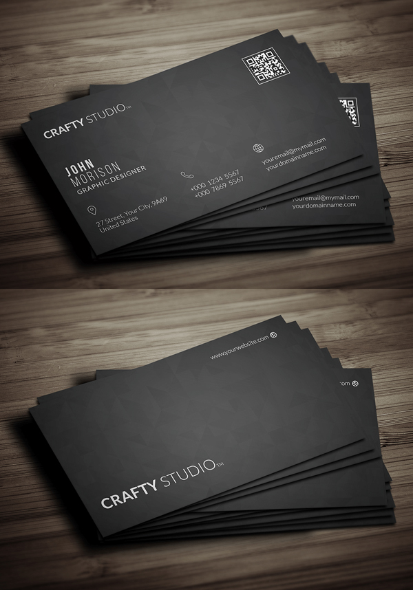 Free business card templates freebies graphic design junction 26 modern free business cards psd templates 4 download link wajeb Image collections