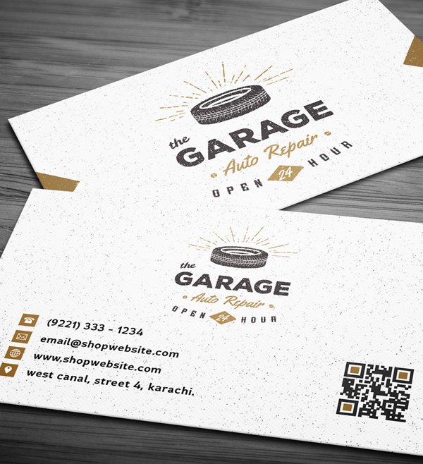26 Modern Free Business Cards PSD Templates - 9