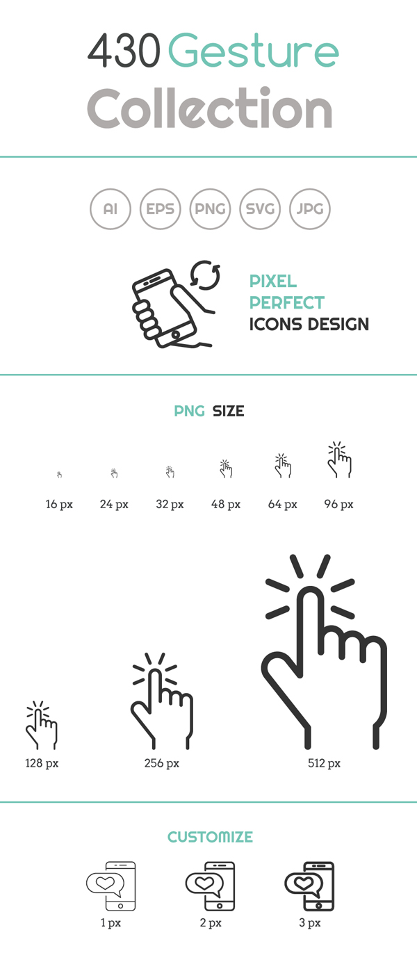 Free Flat Graphics for Designers - 26