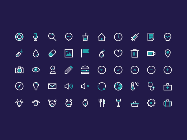 Free Flat Graphics for Designers - 31