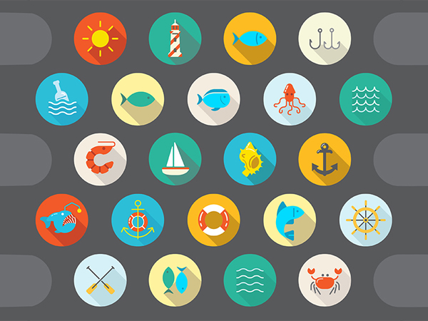 Free Flat Graphics for Designers - 6