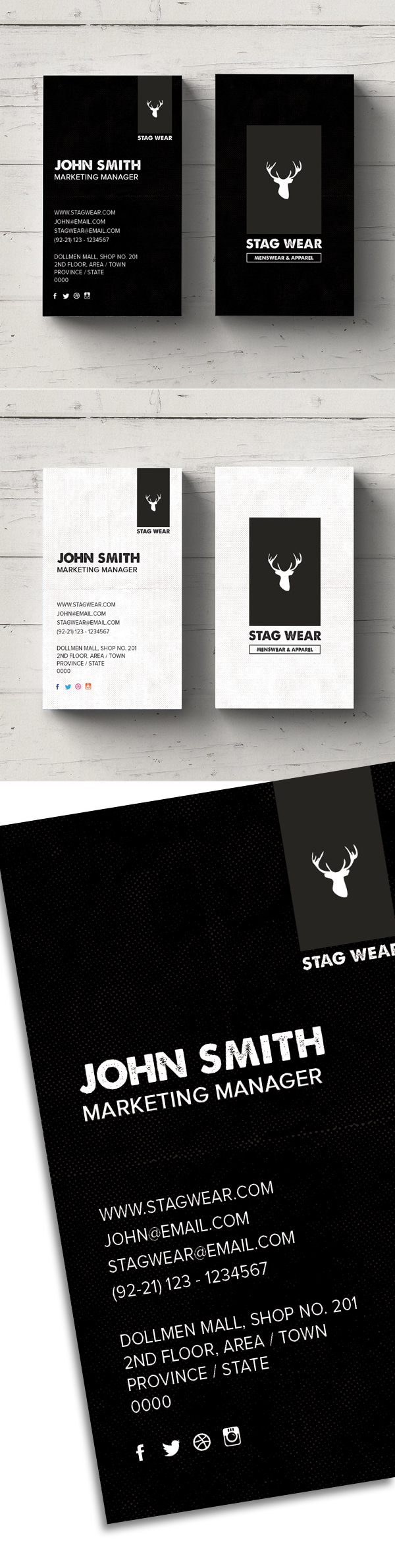 Freebie vertical business card psd template freebies graphic free vertical business card psd template accmission Images
