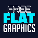 Post thumbnail of 35 Free Flat Graphics and Web Elements for Designers