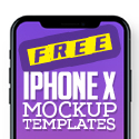 Free iPhone X Mockup Templates (28 Mock-ups)
