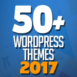 Post thumbnail of 50+ Best WordPress Themes Of 2017