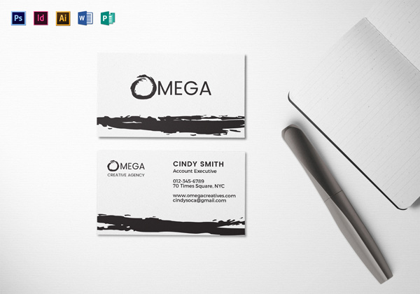 Creative Corporate Business Card Template