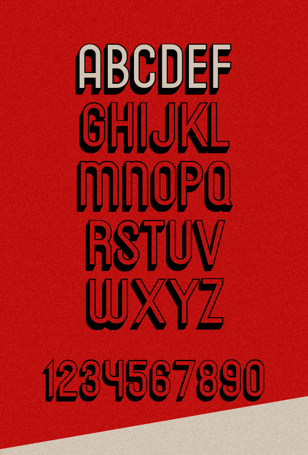 Messages Free Font Letters