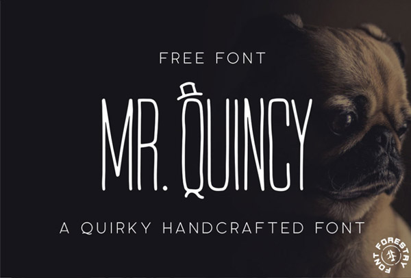 Mr. Quincy Free Font