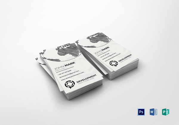 Producer Business Card Template