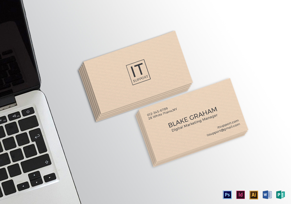 30 minimalistic business card designs psd templates design simple clean business card template wajeb Choice Image
