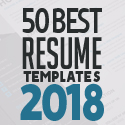 Post Thumbnail of 50 Best Resume Templates For 2018