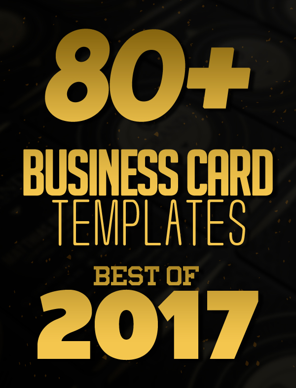 80 best of 2017 business card designs design graphic design 80 best of 2017 business card designs accmission Images