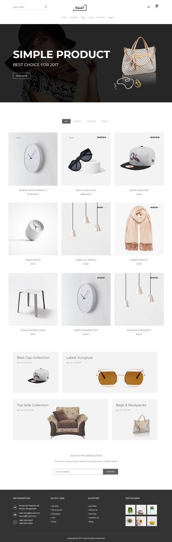 Haat - Minimalist WooCommerce WordPress Theme