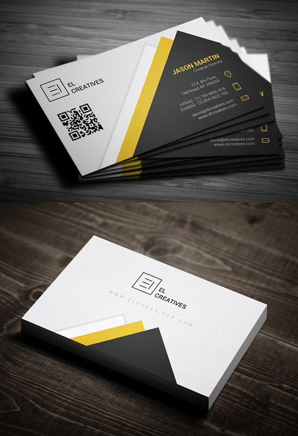 Awesome business card layout inspiration picture collection 36 modern business cards examples for inspiration design graphic reheart Image collections