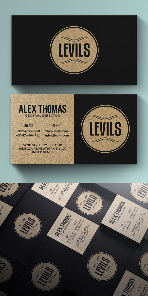 80 best of 2017 business card designs design graphic design 80 best of 2017 business card designs reheart Images
