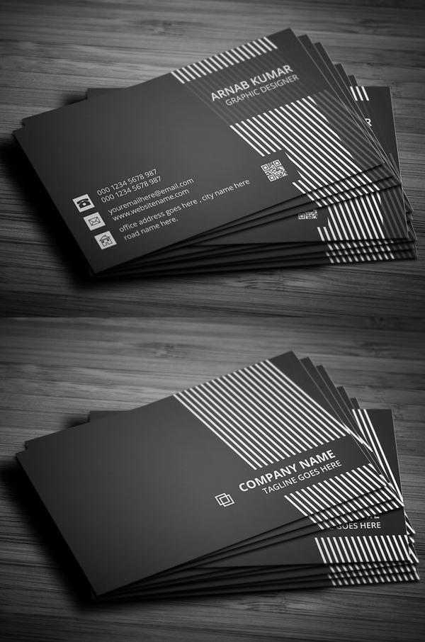 36 modern business cards examples for inspiration design graphic 80 best of 2017 business card designs reheart Gallery