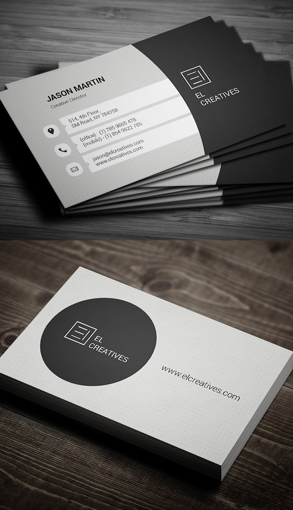 80 best of 2017 business card designs design graphic design 80 best of 2017 business card designs reheart Gallery
