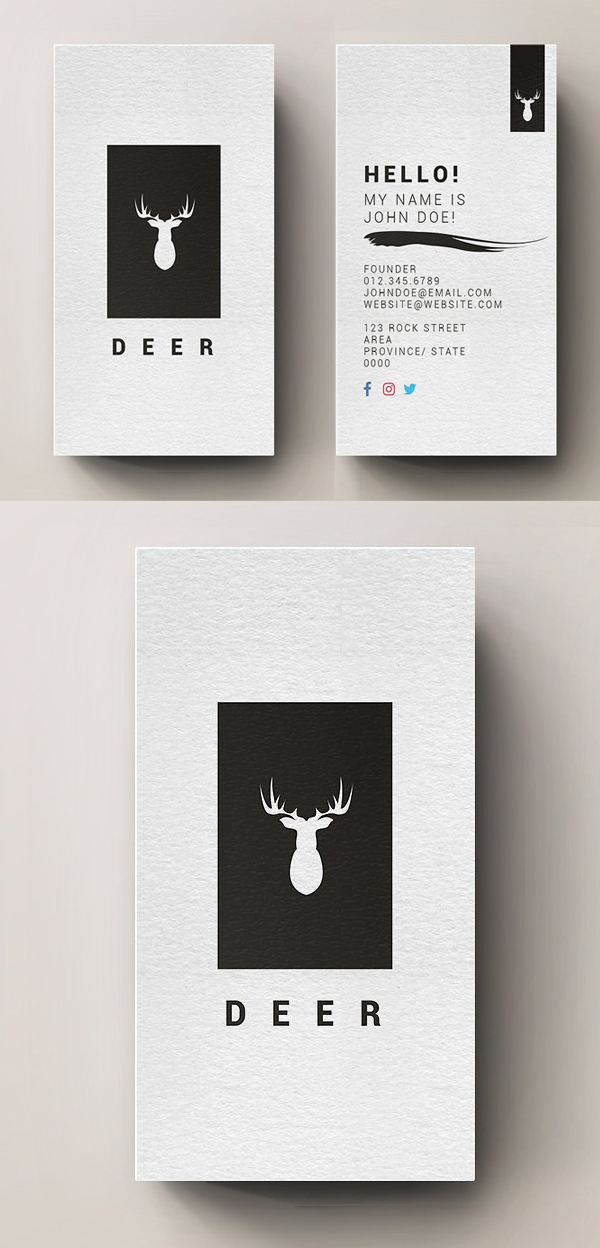 80+ Best of 2017 Business Card Designs – Mixed Sign
