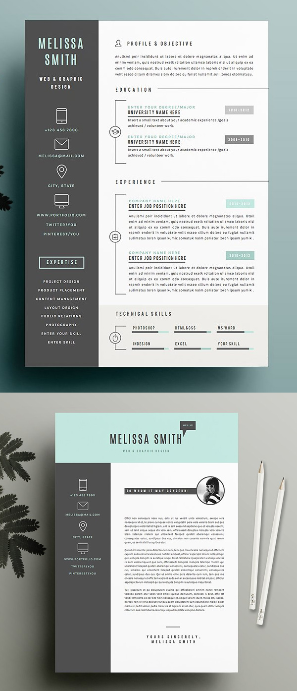 Creative Resume Template Pack